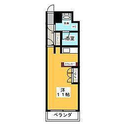 ドゥーエ大須[8階]の間取り