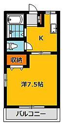 オストハウス[2階]の間取り