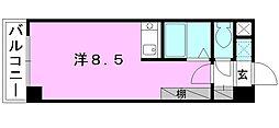 CASA FELIZ[402 号室号室]の間取り