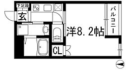 ShellPool6[1階]の間取り