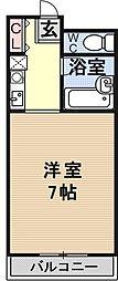 エミネンスコート瀬田[203号室号室]の間取り
