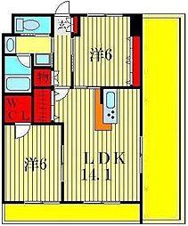 i-BUILDING[5階]の間取り