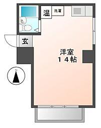 メゾンパール泉[3階]の間取り