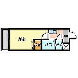 福住館[2階]の間取り
