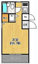 ダイドーメゾン塚口6[4階]の間取り
