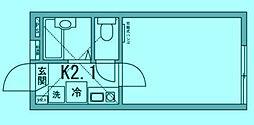 グロリア溝の口[1階]の間取り