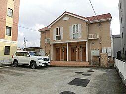 愛知県清須市西田中白山の賃貸アパートの外観