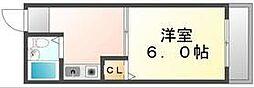 香川県高松市紙町の賃貸マンションの間取り