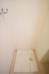 アルクの室内洗濯機置き場