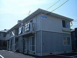 福岡県福岡市東区雁の巣2丁目の賃貸アパートの外観
