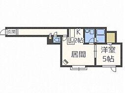 リュクス・N35[3階]の間取り