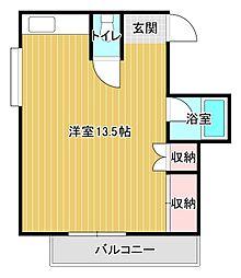 メゾン曳馬B[1階]の間取り