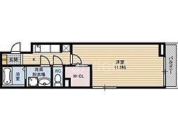 メゾンエテルナ[2階]の間取り