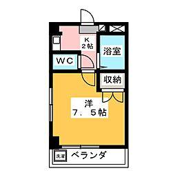 栄ビル[2階]の間取り