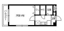 ケイハウス21[3階]の間取り