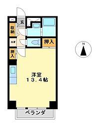 アロンノーブル二[2階]の間取り