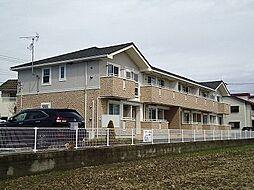 群馬県前橋市幸塚町の賃貸アパートの外観