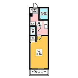 ストリートハイム[2階]の間取り