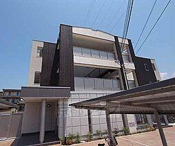 京都府八幡市八幡小松の賃貸アパートの外観