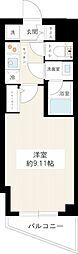 MAXIV成増(マキシヴ成増) 5階1Kの間取り