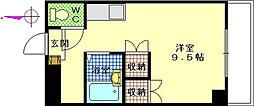 久保田ビル(寺前)[4階]の間取り