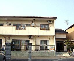 京都府京都市右京区嵯峨大覚寺門前八軒町の賃貸アパートの外観