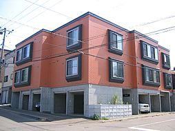北海道札幌市南区澄川五条12丁目の賃貸アパートの外観