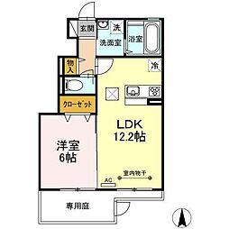 仮)D-room湊高台[1階]の間取り