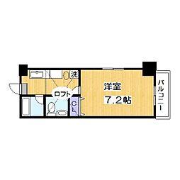 メゾン朋泉高砂[11階]の間取り