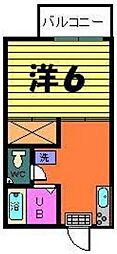 稲荷山ハイツ[2階]の間取り