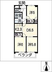 ESPERANZA[4階]の間取り