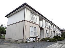 茨城県那珂市後台の賃貸アパートの外観