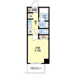 GRANDEL・K[4階]の間取り