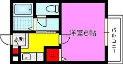 シャトル灰塚[2階]の間取り