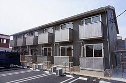 愛知県西尾市米津町雨堀の賃貸アパートの外観