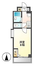 コンセール新栄[8階]の間取り