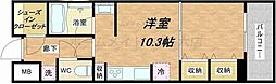 KDX堺筋本町レジデンス[6階]の間取り