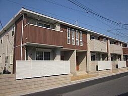 埼玉県春日部市梅田1丁目の賃貸アパートの外観