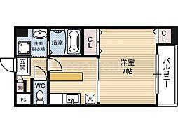 ベルダァーIII番館[2階]の間取り