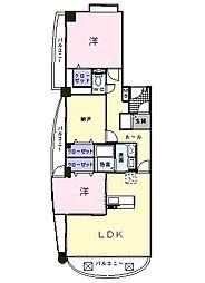 フォルシュT[2階]の間取り