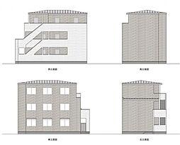 マツドシンデンハッピーハウス[303号室号室]の外観
