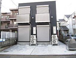 神奈川県相模原市緑区西橋本2の賃貸アパートの外観
