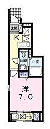 コンフォーティア[1階]の間取り