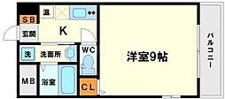 WillDo新大阪[9階]の間取り