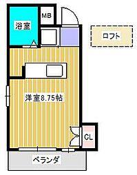 メゾン・ドゥ・ソレイユ[3階]の間取り