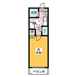コンフォート大野[2階]の間取り