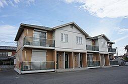 群馬県太田市飯塚町の賃貸アパートの外観