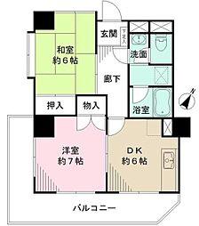 パールモア新井堂[2階]の間取り