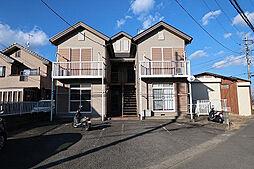 神奈川県平塚市北豊田の賃貸アパートの外観