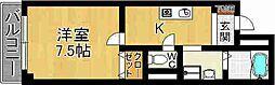 奈良県奈良市南新町の賃貸マンションの間取り